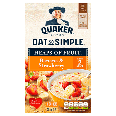 Quaker Oat So Simple Porridge Pots